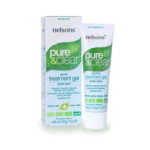 Гель против угревой сыпи Nelsons Pure & Clear, Acne Treatment Gel фото