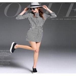 Платье European Station Since 1983 Italy Женское модное полосатое артикул: 132572 фото
