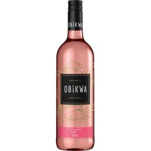 Вино розовое сухое Obikwa Rose 2018 фото