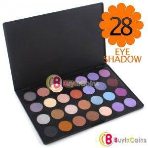 Палетка теней Buyincoins   Pro 28 Color Ultra Shimmer Eyeshadow Palette Eye Shadow фото