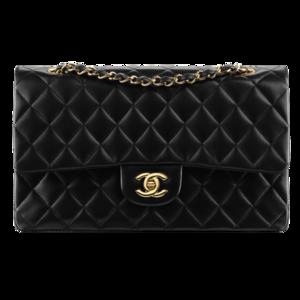 Женская сумка из натуральной кожи Chanel Classic Flap Bag фото