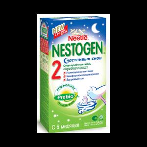 """Детская молочная смесь Nestle Нестожен (Nestogen) """"Счастливых снов"""" для детей с 6 месяцев фото"""