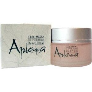 Маска для лица Аркадия Гель с розовым маслом фото