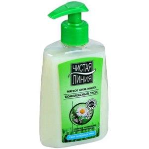 Жидкое крем-мыло Чистая линия  Фитолиния фото