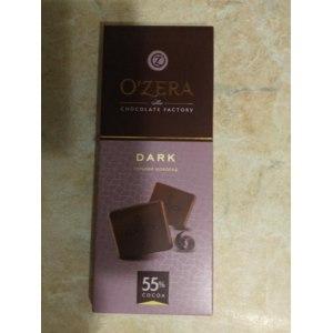 Горький шоколад Озерский сувенир O'zera DARK  55% фото