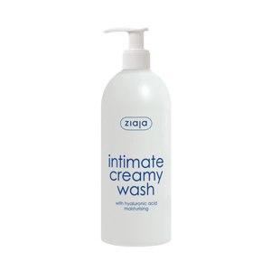 Гель для интимной гигиены ZIAJA Intimate creamy wash with hyaluronic acid moisturising Увлажняющий с гиалуроновой кислотой фото