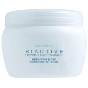 Маска для волос Everline Biactive Маска биоактивная восстанавливающая волосы фото