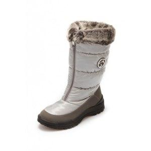 Зимние сапоги Alaska Originale с опушкой Серый Техно  фото