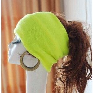 Шапка AliExpress Вязаная  Skullies  - резинка для волос фото