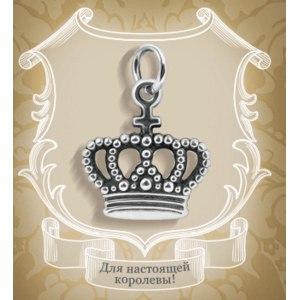 Кулон Valtera Серебряная корона фото