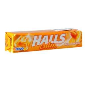 Леденцы Dirol Halls Calm Мёд с лимоном фото