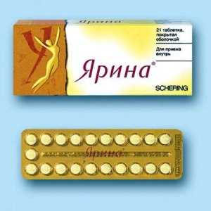 Контрацептивы Schering AG Ярина фото