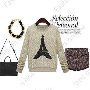 Пуловер AliExpress пуловер с длинными рукавами Sweatershirts  фото