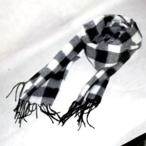 Шарф Ebay New Mens Winter Plaid Scarf Stole Tassel CHECK Scarves Shawl Wrap Fashion фото