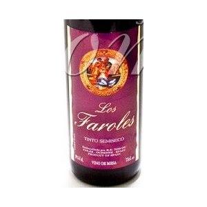 Вино Los Faroles красное полусухое фото