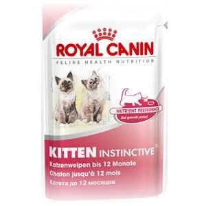 Royal Canin Kitten Instinctive 12 Влажный корм фото