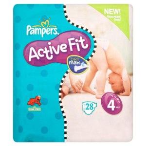 Подгузники Pampers Active Fit фото