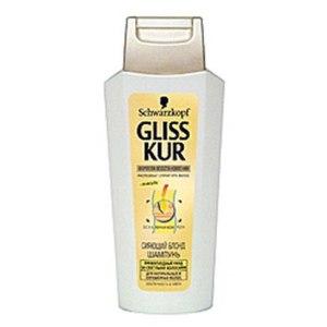 """Шампунь Gliss kur """"Сияющий блонд"""" для натуральных и окрашенных светлых волос фото"""
