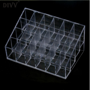 Органайзер Aliexpress SP 22 Mosunx Business 2016 Hot Selling Generic24 StandTrapezoid Clear Lipstick Lotion Makeup CosmeticHolder StorageDisplay Stand фото