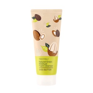 Пенка для умывания TONY MOLY Natural Green Moisture Foam Cleanser Shea Butter фото
