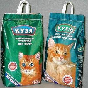 Наполнитель для кошачьего туалета КУЗЯ для кошек фото