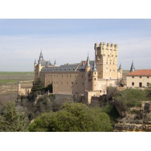 Замок Алькасар в Сеговии ,Испания фото