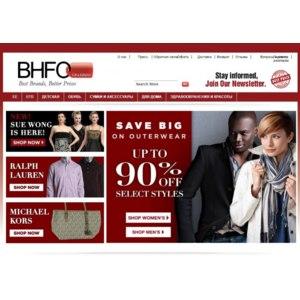 Сайт BHFO.com фото