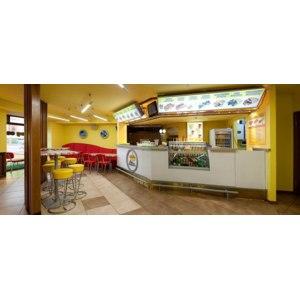Hot dog Cafe Yellow Submarine, Киев, Украина фото
