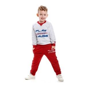 Брюки Lucky Child Больше пространства красные Артикул: 64-11пф/кр фото
