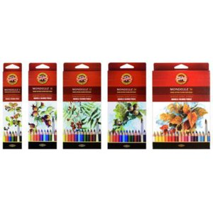 Koh-i-noor акварельные карандаши Mondeluz фото