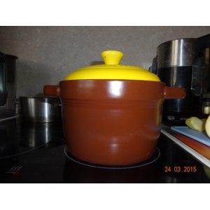 Керамическая кастрюля Wellberg с крышкой 1.5 литра WB-31023 фото