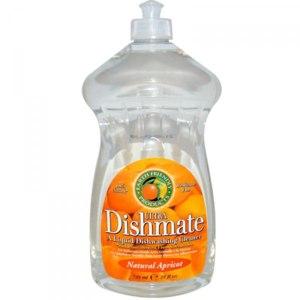 Средство для мытья посуды Earth Friendly Products, Ultra Dishmate, Liquid Dishwashing Cleaner, Natural Apricot фото