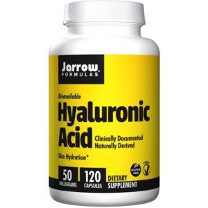 БАД Jarrow Formulas, Hyaluronic Acid, 50 mg, 120 Capsules фото