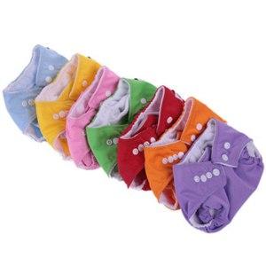 Многоразовые подгузники Aliexpress Adjustable Reusable Lot Baby Washable Cloth Diaper Nappies Clothing Pants Kids фото
