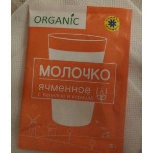 Ячменное молочко Компас здоровья с ванилью и корицей фото