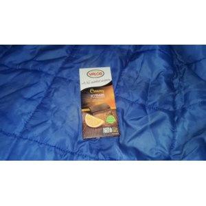 Горький шоколад Valor Creamy with no added sugars 70% cacao с апельсиновой начинкой фото