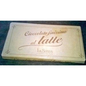 Молочный шоколад La Suissa 30% какао фото