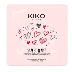 Тканевая маска для лица KIKO MILANO SWEETHEART HYDRATING FACE PATCHES фото