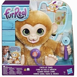 bb0897026b49 Hasbro Интерактивная игрушка Вылечи Обезьянку FurReal Friends фото