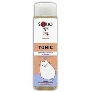 Тоник SENDO Контроль жирного блеска для комбинированной и жирной кожи  фото