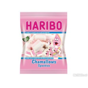 Жевательный зефир HARIBO Chamallows Speckies фото