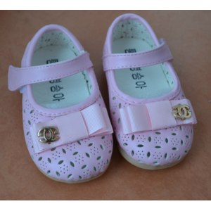 Туфли летние Aliexpress Children shoes new 2015 girls shoes princess flat Fashion loafers Hole hole sandal girls baby Han edition hollow out shoes B4 фото