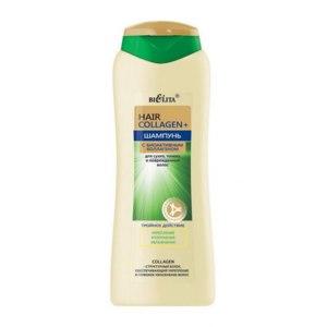 Шампунь Белита-Витэкс Hair Collagen с биоактивным коллагеном для сухих, тонких и поврежденных волос фото