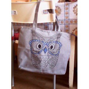 Сумка Aliexpress Free shipping! quality assurance! The new woman handbag, owl personalized printed canvas shopping bag, shoulder bag фото