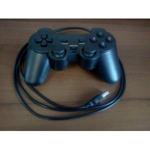 Aliexpress Double Shock USB GamePad Game Controller JoyPad for PC Computer Joystick Free Shipping фото