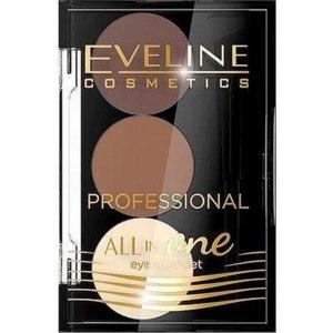 Набор для бровей Eveline Профессиональный для стилизации и макияжа бровей All In One Eyebrow Set фото
