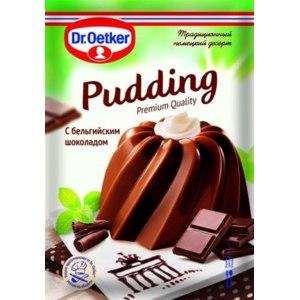 Пудинг DR.OETKER C бельгийским шоколадом фото
