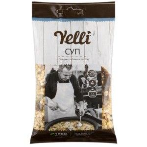 Суп Yelli С белыми грибами и пастой фото