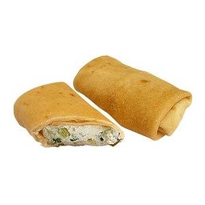 Блинчики У Палыча С мягким сыром и зеленью фото
