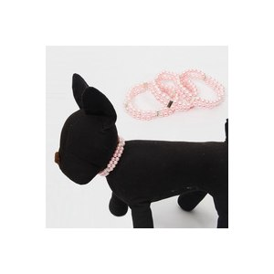 Ошейник Aliexpress Fashion Free Shipping Pet Necklace Dog Pearls Pet Collar Dog Jewelry Charm Necklace Puppy Dog and Cat Collar Pet Supplies фото